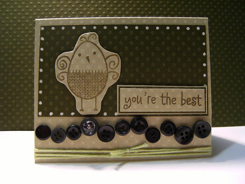 mini card you're the best