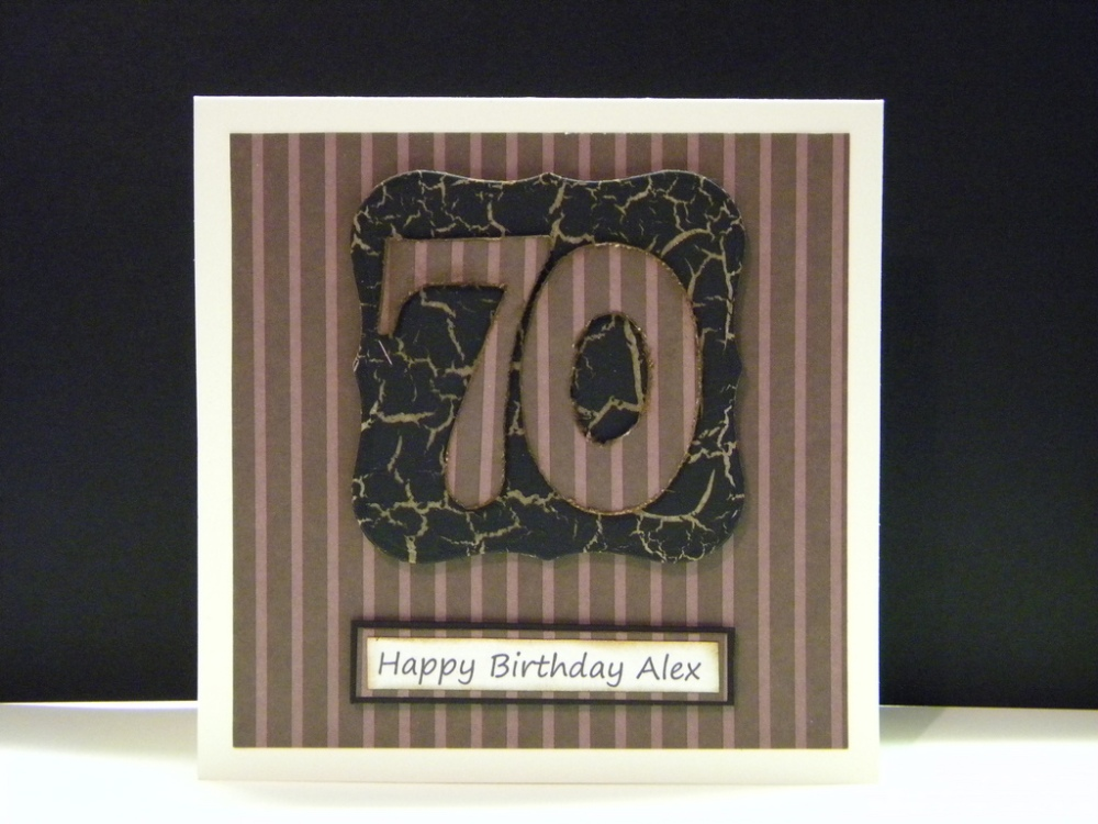 Men's 70th Birthday Cards... (3/4)