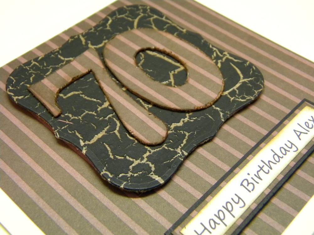 Men's 70th Birthday Cards... (4/4)