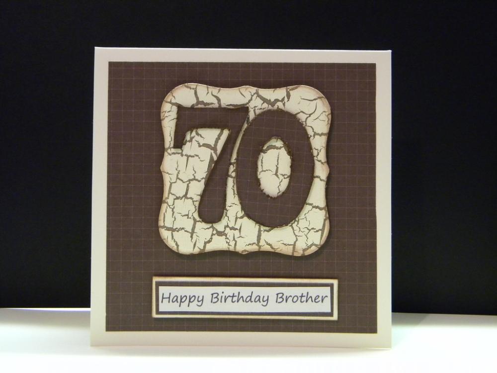 Men's 70th Birthday Cards... (1/4)