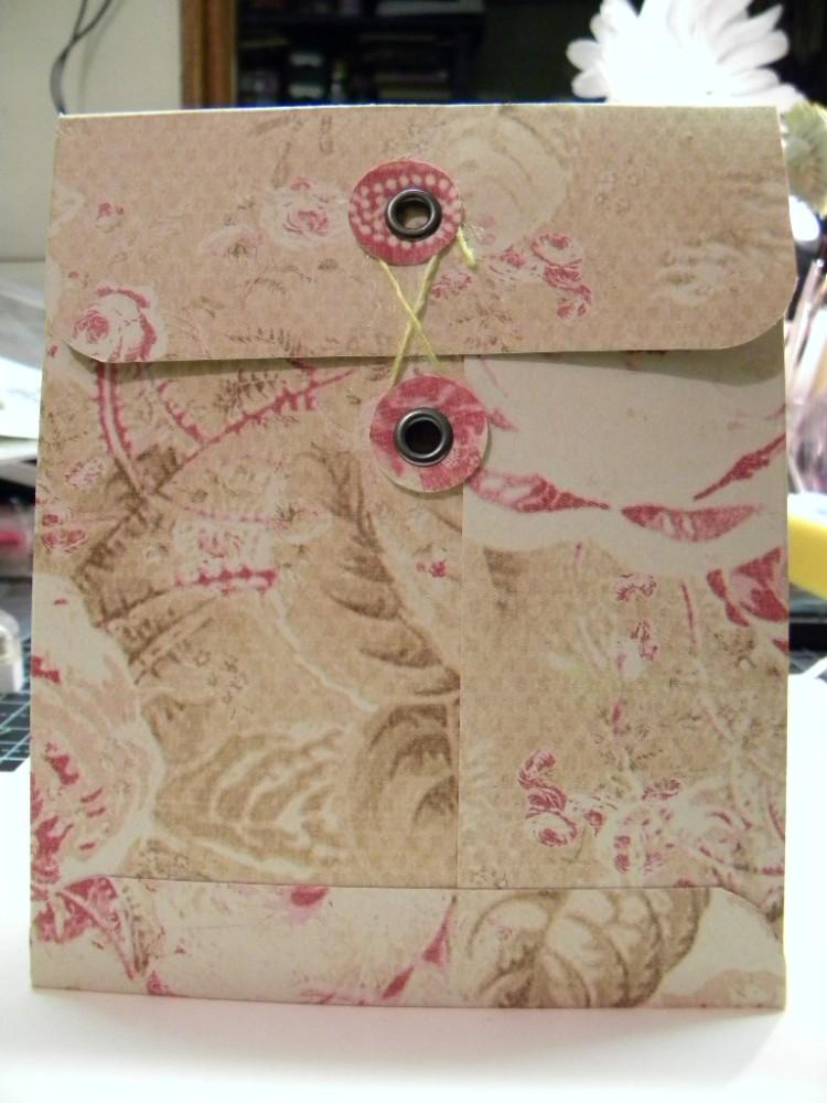 Handmade Envelope (Scrapalope) Tutorial (2/5)