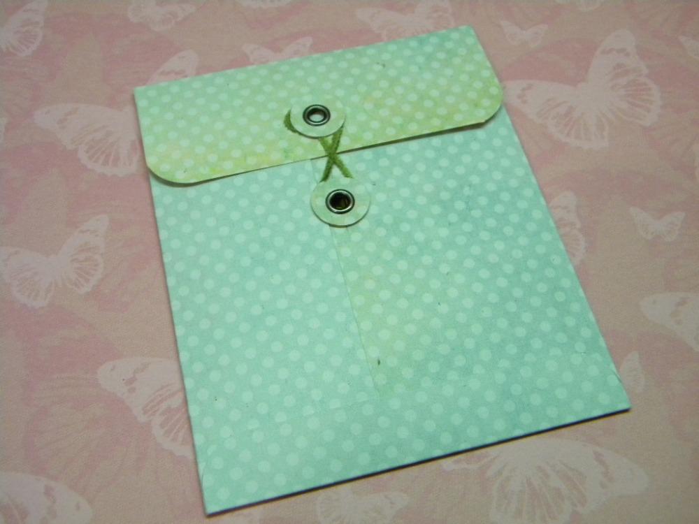 Handmade Envelope (Scrapalope) Tutorial (5/5)