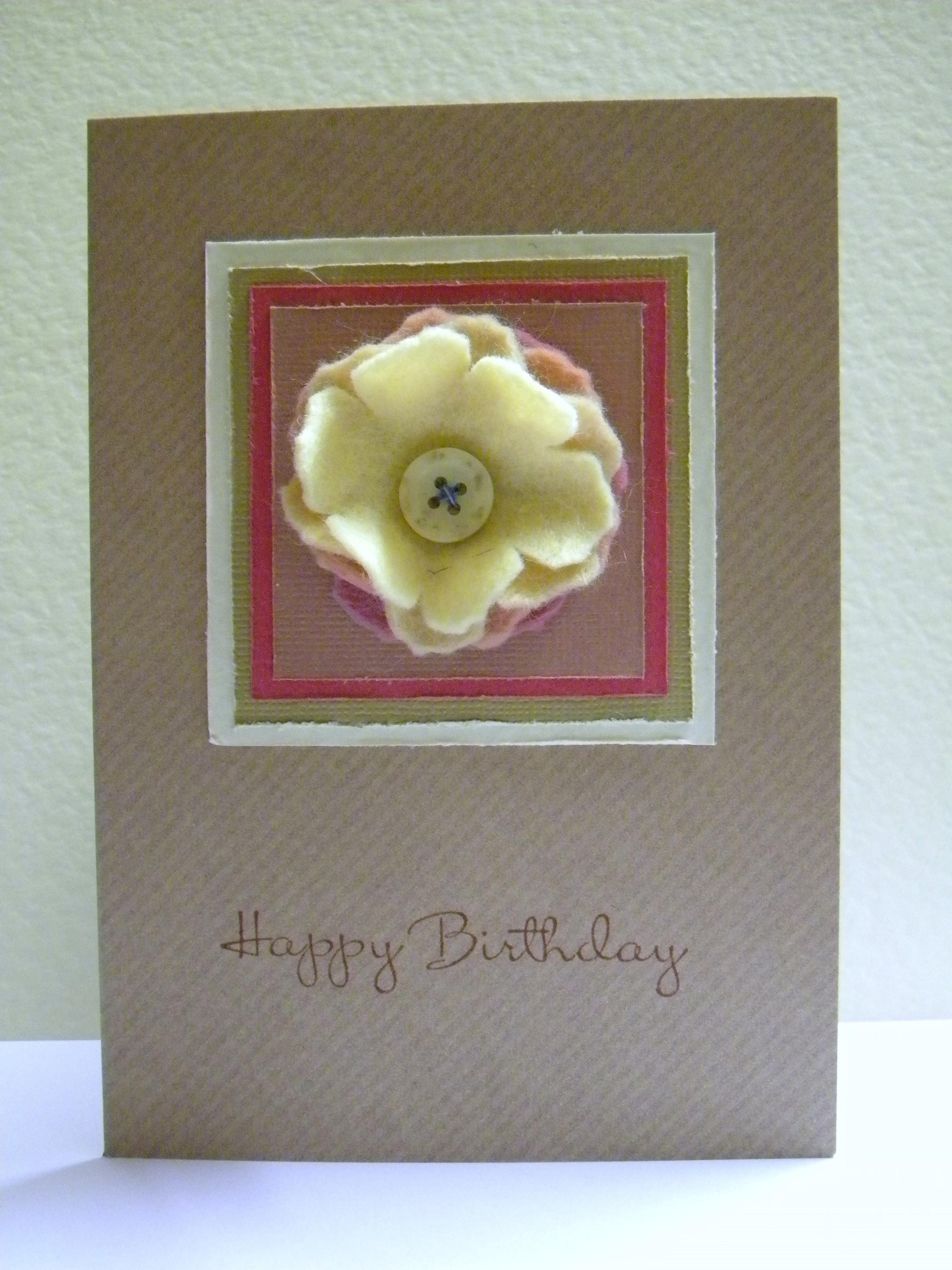 Thanks And Happy Birthday Cards The Handmade Card Blog