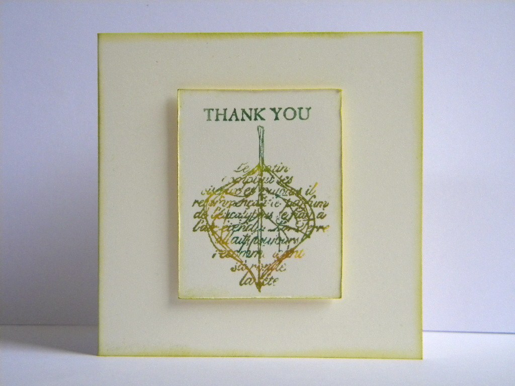 thank you card picture