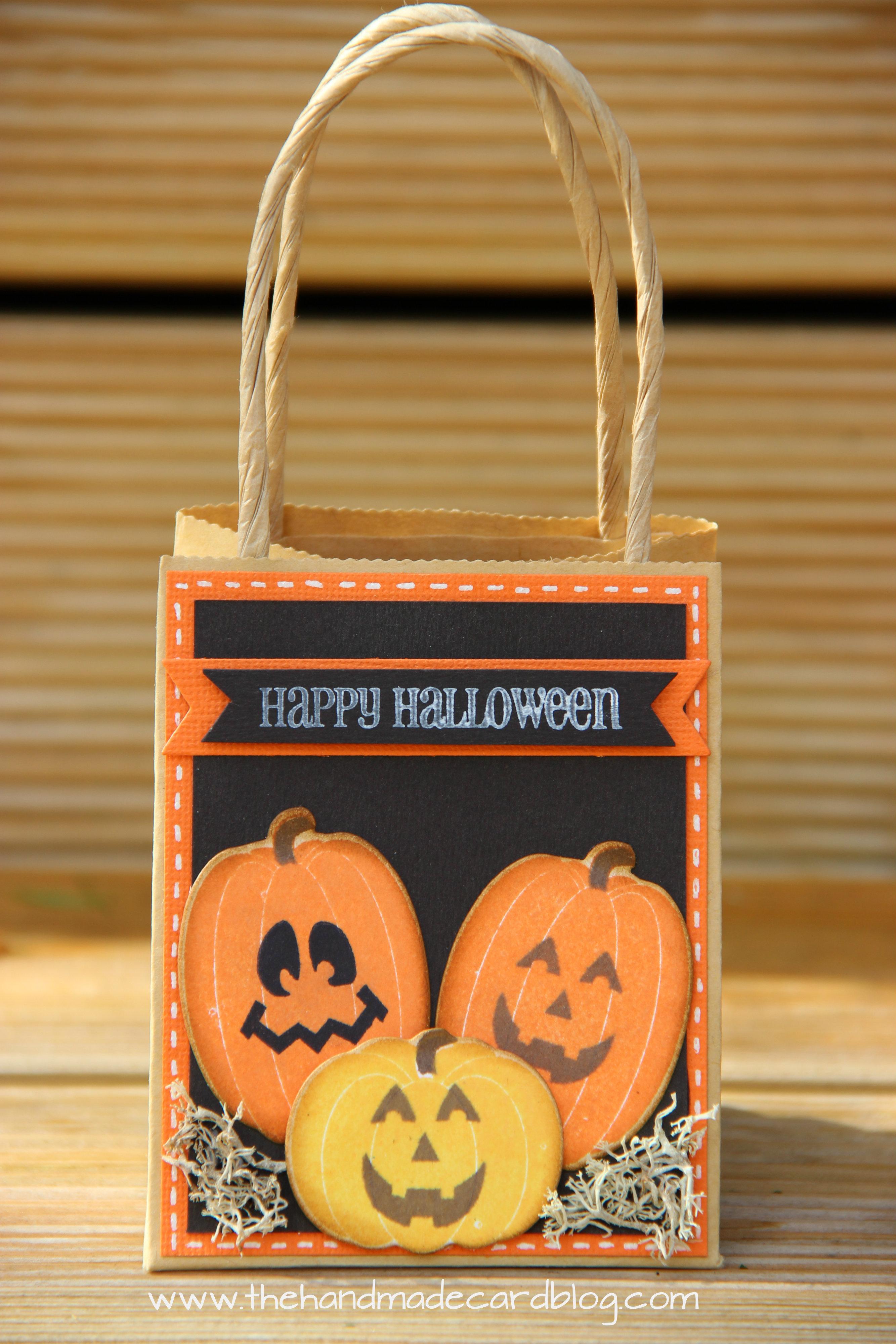 Halloween Treat Bag – The Handmade Card Blog
