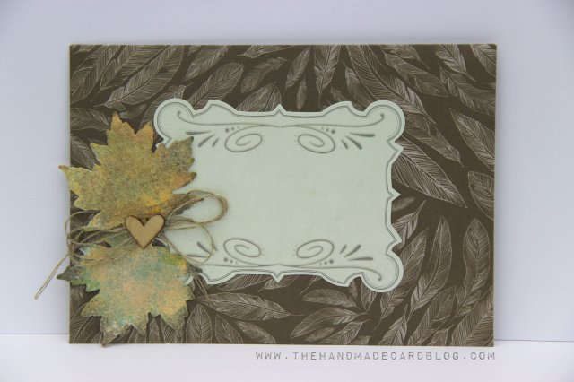 autumn envelope