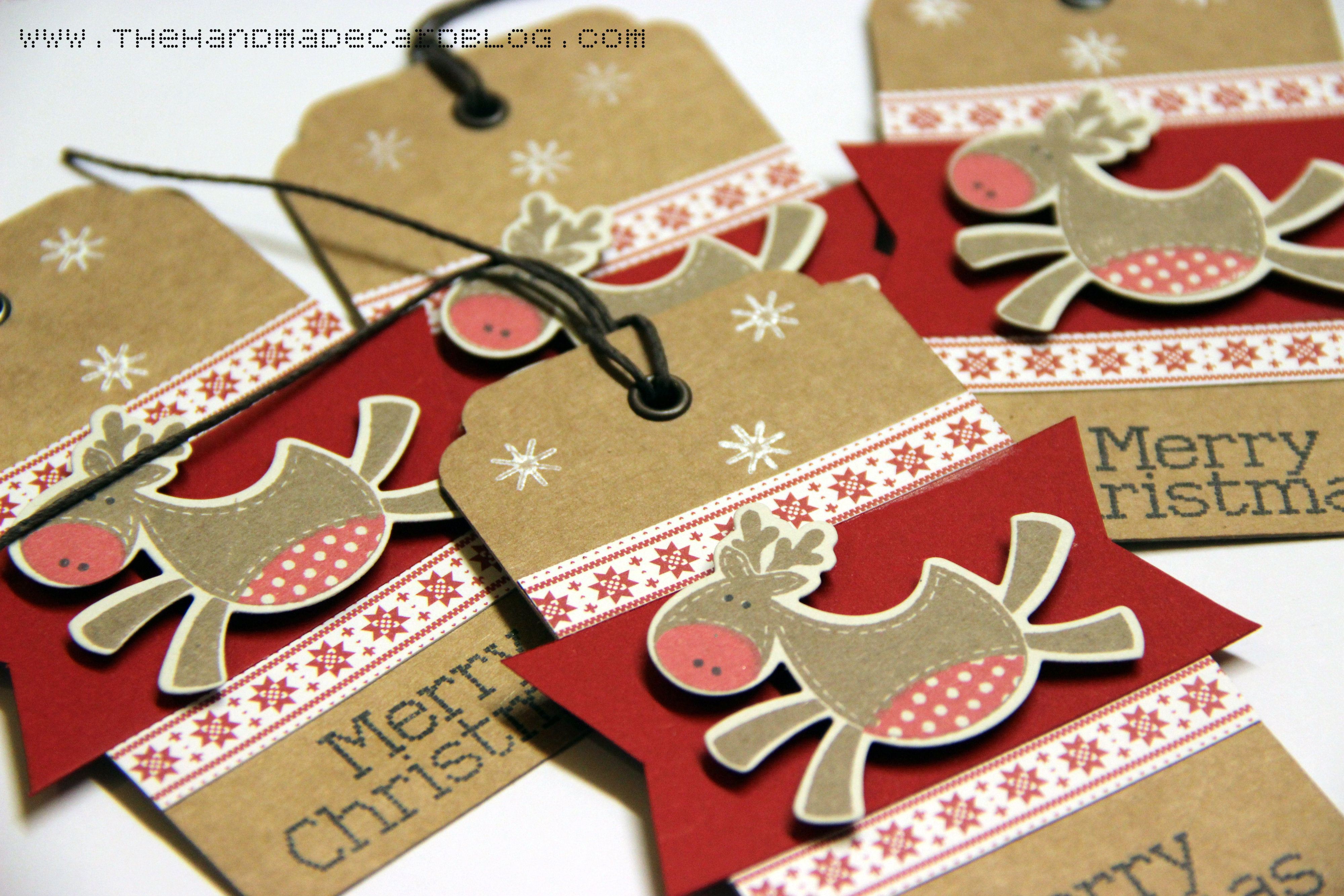 Christmas Tags: Handmade Christmas Tags
