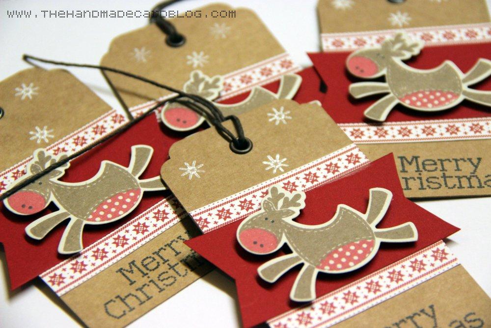 Reindeer Christmas Tags (2/3)