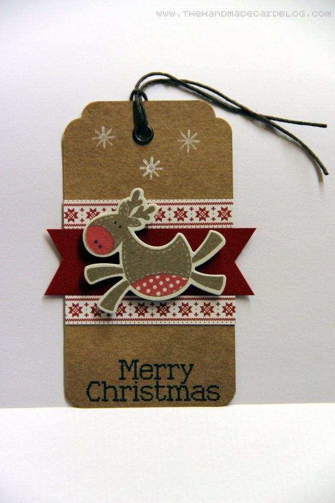 Reindeer Christmas Tags (3/3)