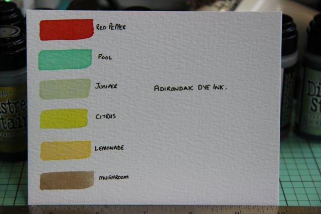 Adirondak Dye Inks
