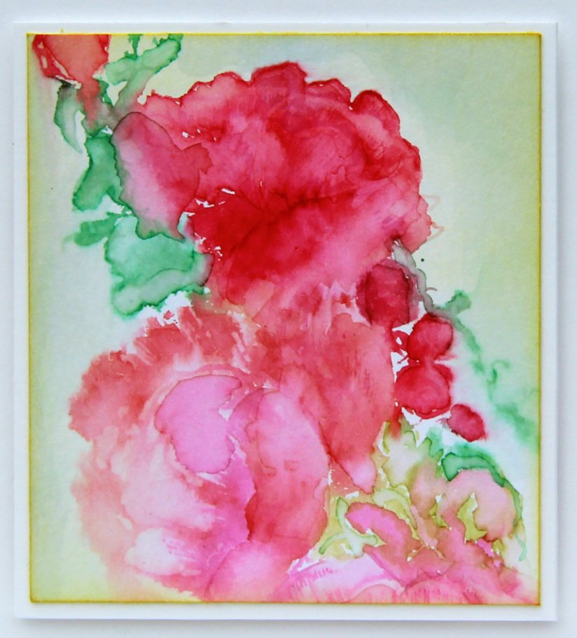 watercolour stamping #3