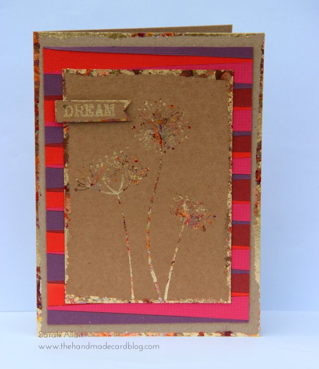 Indian summer Inspiration Card