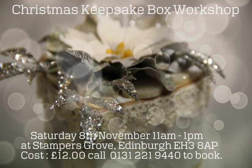 Christmas Keepsake Flyer 8th November