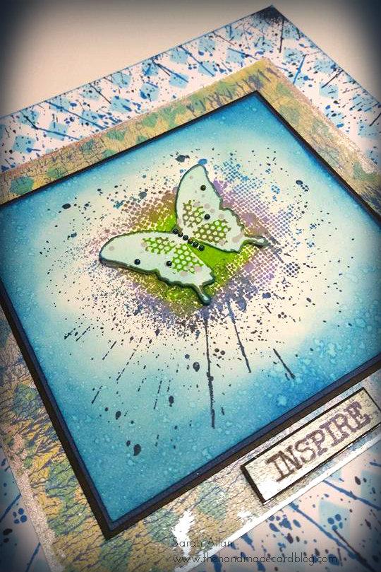 Ink Splat Butterfly (4/4)