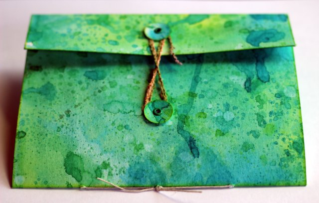 mixed media wallet 1