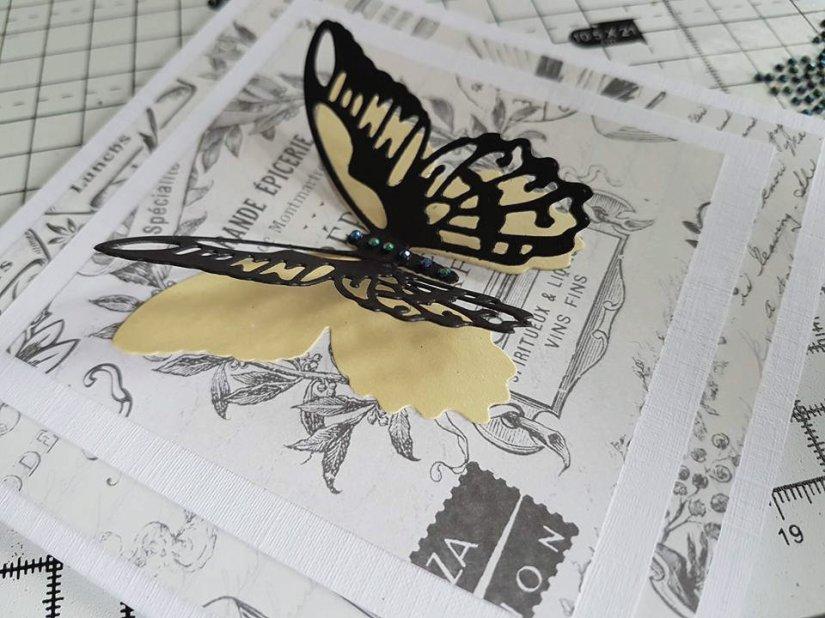 butterfly card 2