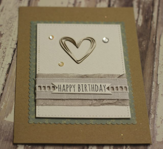 Happy birthday card the handmade card blog for Geburtstagskarten ideen