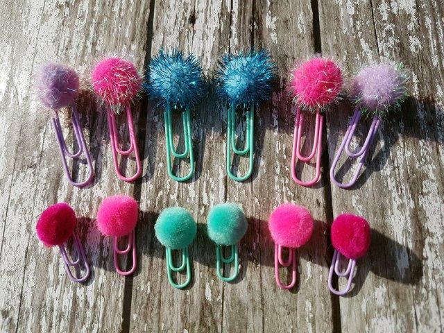 pom pom paper clips 1